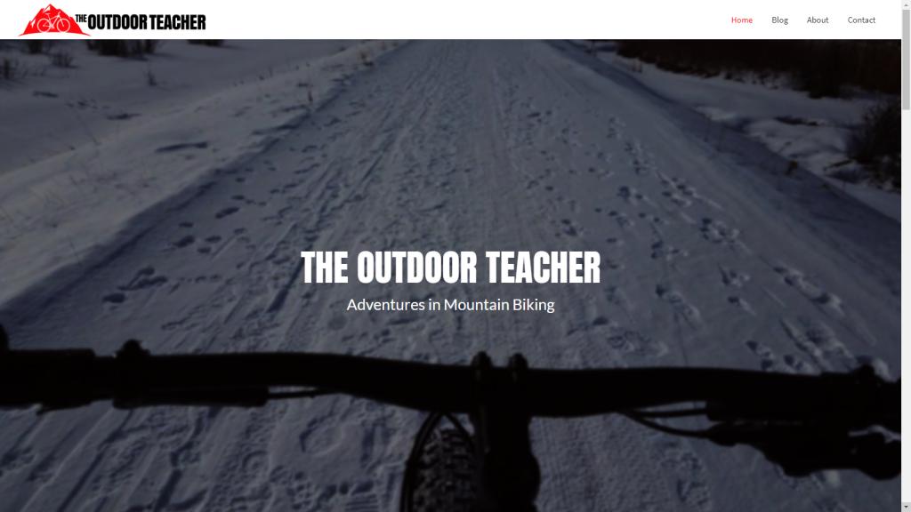 The Outdoor Teacher